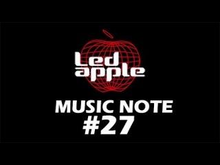 Bruno Mars - Treasure By Hanbyul of Led apple Music note #17/50