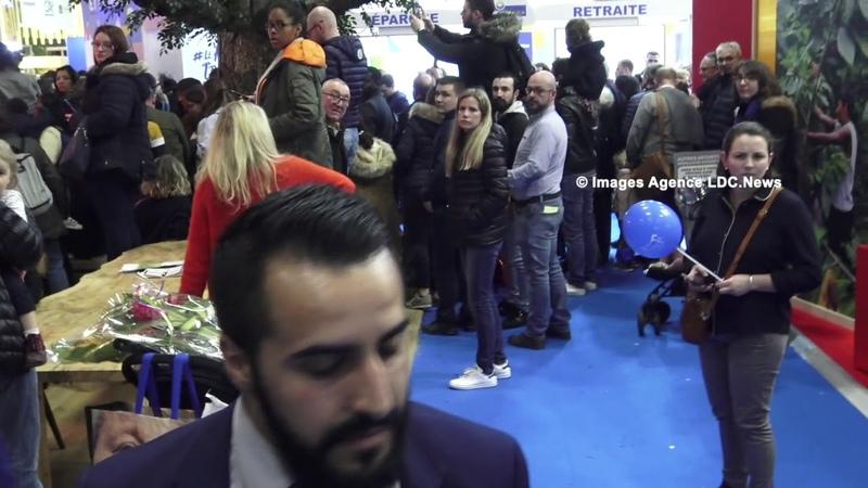 LDC News exfiltré par le Cabinet de Macron Salon de l'Agriculture Paris France 27 Janvier 2020