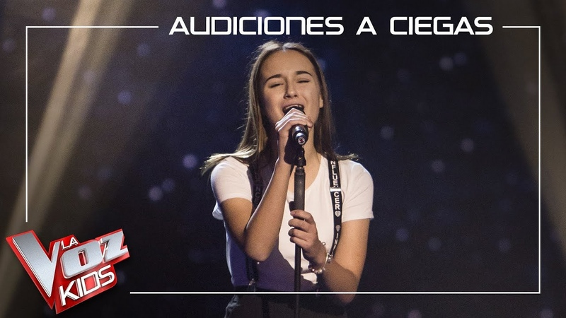Ruslana Panchyshyna canta 'It's a man's man's man's world Audiciones a ciegas La Voz Kids 2019