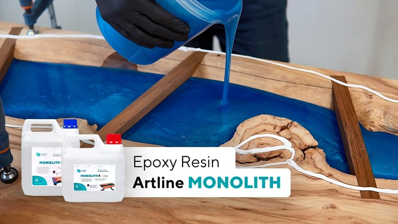 Epoxy resin for bulk thick layer fills Artline MONOLITH epoxy