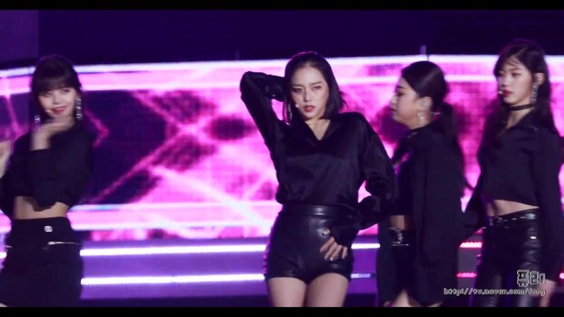 180404 CLC 장예은 BLACK DRESS 울산 쇼 챔피언