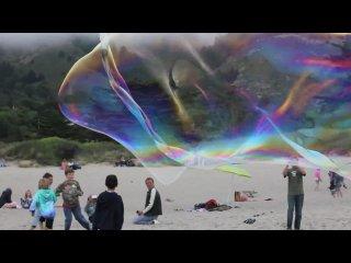 Giant Stinson Beach Bubbles Canon 550D
