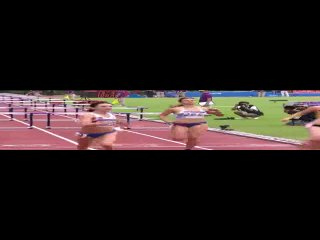 Singapore 2010 athletics womens 100m hurdles final