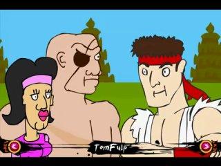 Street Fighter Flash Collab part 2