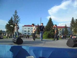 Шах и Мат - Родина(Выступление на главной площади посёлка 12 июня 2011 года)