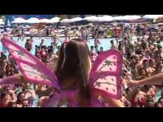 Winx club Aquafan Day Riccione 2011