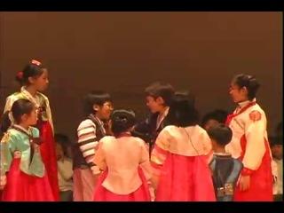 PREDEBUT Hansol in a play Heungbu and Nolbu