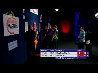 Kim Huybrechts vs Brendan Dolan (Dutch Darts Masters 2013 / Final)