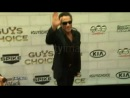 Van Damme with his son - Red Carpet - 2012 Guys Choice Awards