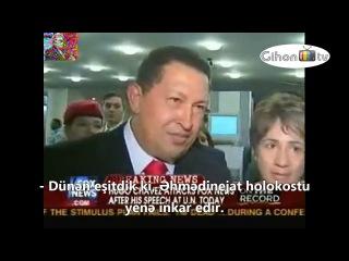Hugo Chavez: Fox News'un axmaq insanları!
