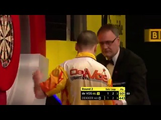 Jan Dekker vs Geert De Vos (BDO World Darts Championship 2014 / Round 2)