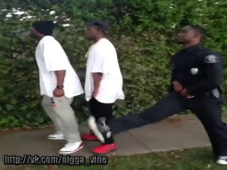 Thugs can never run from the cops b/c their pants are always sagged.