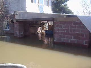 Затопленные дачи р он Речпорт