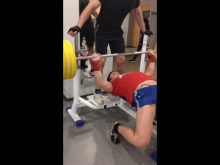 Gym bench press 110kg