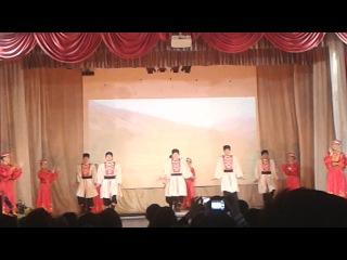 2014.04.10 студ весна БГСХА калмыцкий танец шарка барка Улан Удэ