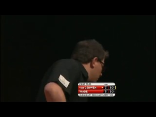 Michael van Gerwen vs James Wade (2014 Dubai Duty Free Darts Masters / Quarter Final)