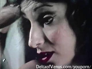 [vintage] hairy french schoolgirl fucks \ волосатая писька - школьница