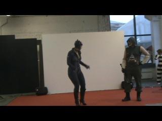 Дефиле №32 Valeriya DarkEif Lisnik Москва Тверь Batman Arkham City Женщина кошка бандит Джокера