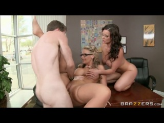 : Kendra Lust & Phoenix Marie - Goldmilf & Ballsachs Incorporated (2014)