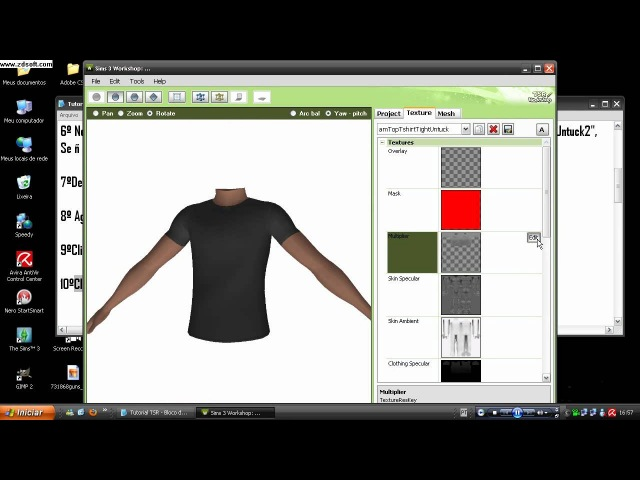 Editando Roupa para The Sims 3 no TSR Workshop - Parte 01