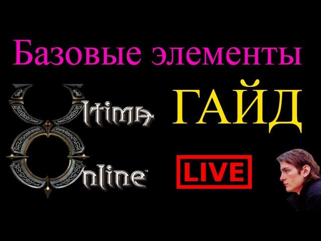 Ultima Online ГАЙД Базовые навыки — Банк, воскрешение, торговля, гейты, карта и др.