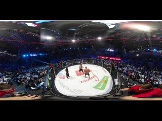 Видео 360: Бой Федора Емельяненко против Фабио Мальдонадо