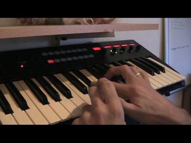 Laserdance - You and Me, Cover by Chris van Buren