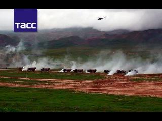 """Основной этап учения разведчиков стран ОДКБ """"Поиск-2016"""" стартовал в Таджикистане"""