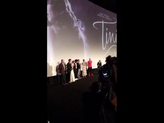 Видеозапись  Tini en el avant de Tini El Gran Cambio De Violetta in Paris