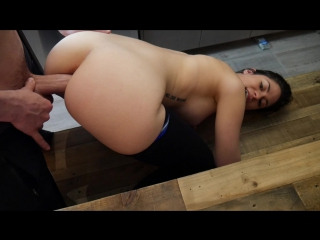 Ashley alban - blackmailing ash for anal [natural girls porno, solo, big tits, blowjob, all sex, pov, anal,stockings]