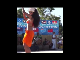 Melanie Amen, Tahitian dance world champion.