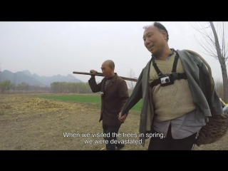 Gopro a blind man and his armless friend plant a forest in china [hd, 720p]