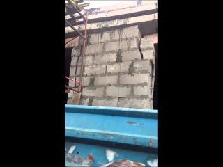 Ул. марсельска обрушился будующий магазин