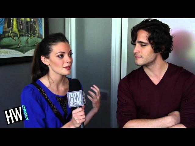 Diego Boneta Sarah Habel 'Underemployed' Exclusive Interview
