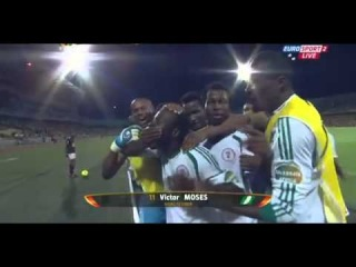 Victor Moses Penalty Goal Ethiopia 0-2 Nigeria (Africa Cup of Nations 2013)