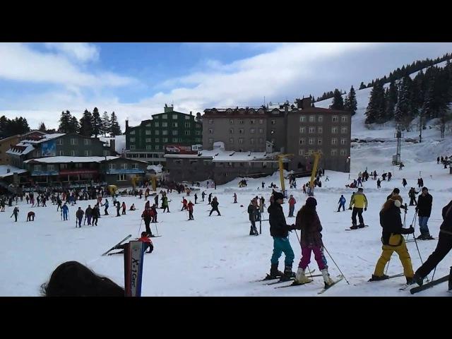 Samsung Wave 2 s8530 HD Video Mt Uludag Ski Center Bursa Turkey