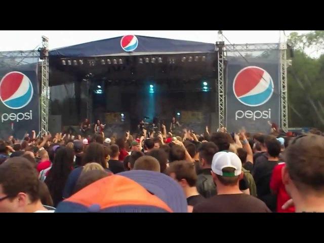 Suicide Silence Hegyalja Feszt.2012