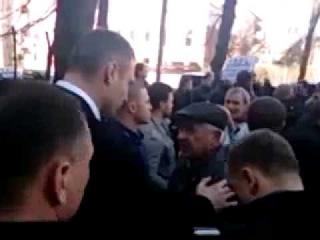 Дед опустил Кличко под плинтус в Харькове! 9 03 2014