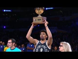 Spencer Dinwiddie Wins Taco Bell Skills Challenge | Feb 17, 2018 | 2018 NBA All-Star Saturday Night