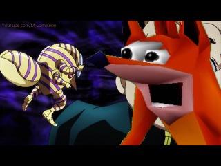 Crash Bandicoot vs Yoshikage Kira - WOAH!