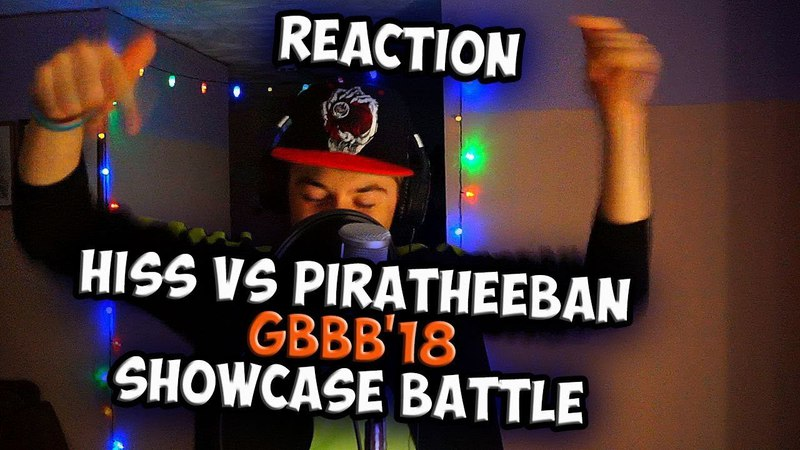 HISS vs PIRATHEEBAN   Grand Beatbox SHOWCASE Battle 2018   Reaction (ENG SUB)