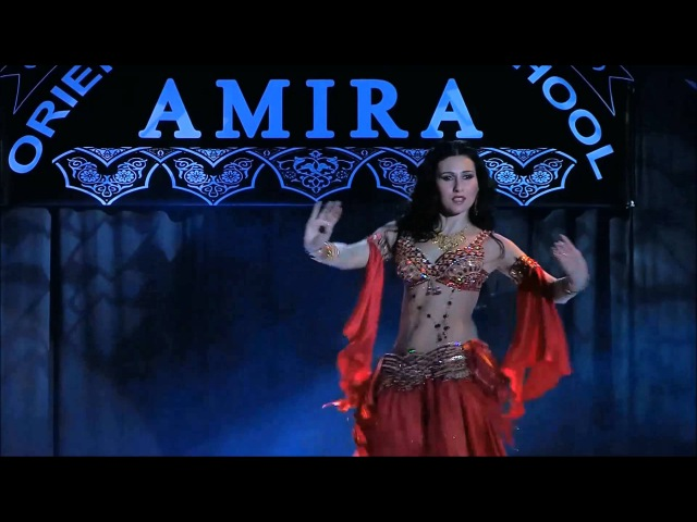 Belly dance seduction and floorwork by Amira Abdi