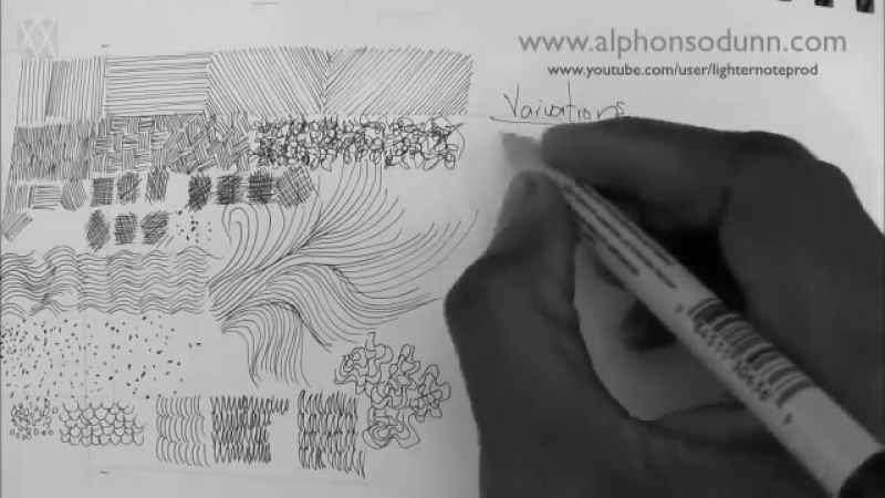 Pen Ink Drawing Tutorials Beginners introduction to crosshatching basic strokes