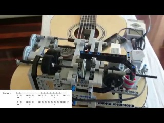 Little Talks Guitar Cover by Lego Mindstorms