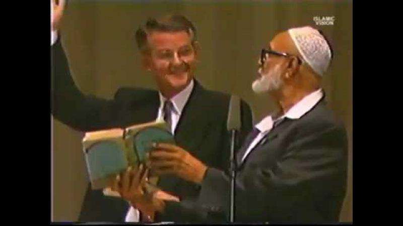 Debate Ahmed Deedat VS Pastor Stanley Sjoberg Is Bible God's Word FULL