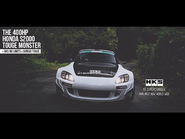 HKS GT Supercharger Arvou Honda S2000 400HP Touge - HKS No Limits