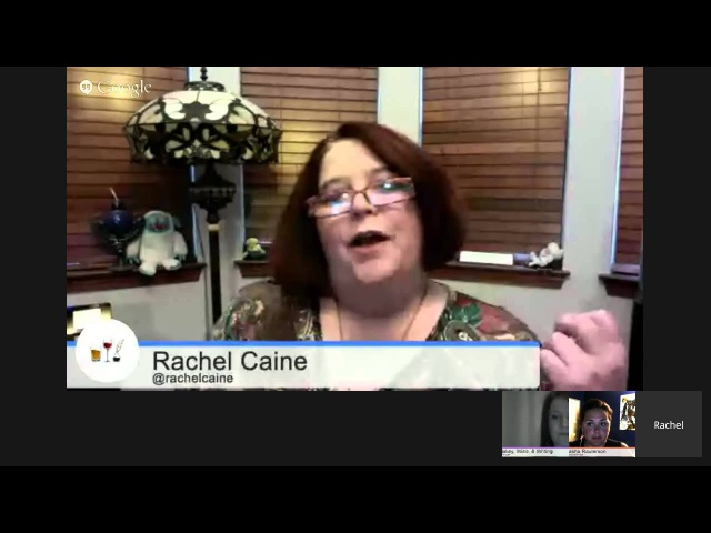 Ink and Bone Live Reading by Rachel Caine