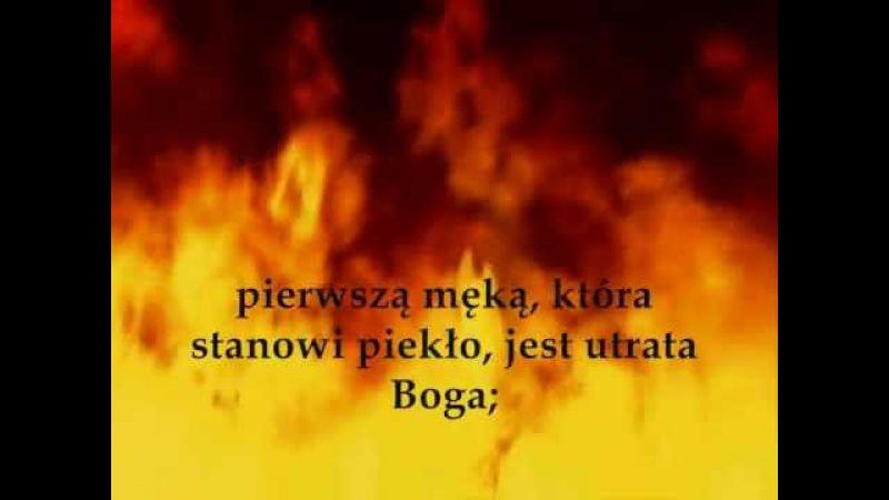 PIEKŁO - Wizja piekła - Św. Faustyna Kowalska - Dzienniczek (Dz. 741)