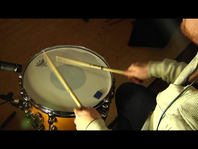 Remo Controlled Sound Snare Batter Head Test