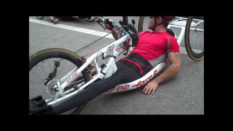How to Turn a Handcycle in a Tight Place